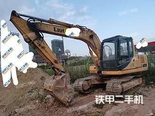 防城港柳工CLG915D挖掘機實拍圖片
