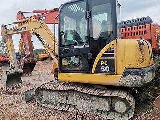 二手小松挖掘机左后45实拍图164