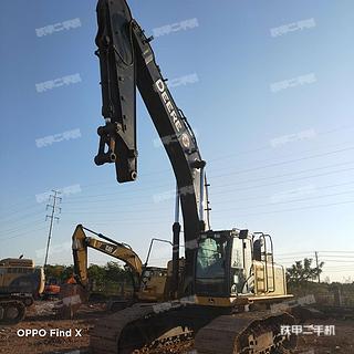 浙江-金华市二手约翰迪尔470GLC挖掘机实拍照片