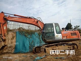塘沽日立ZX210H-3G挖掘機實拍圖片