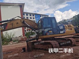云南-普洱市二手卡特彼勒324D挖掘机实拍照片