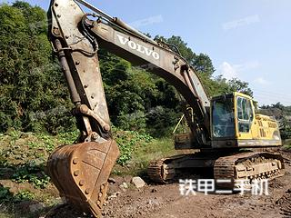 四川-泸州市二手沃尔沃EC360BLC挖掘机实拍照片