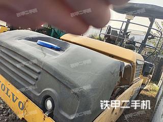 山东-青岛市二手沃尔沃DD118HF压路机实拍照片