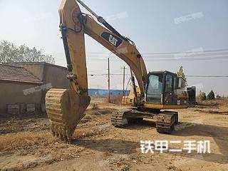 江苏-连云港市二手卡特彼勒320D液压挖掘机实拍照片