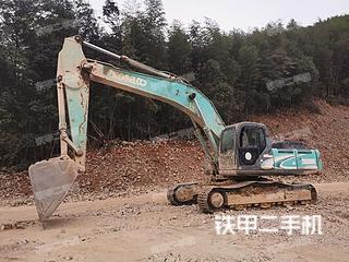 神鋼SK350LC-8挖掘機實拍圖片