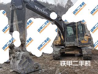 西安沃爾沃EC120D挖掘機實拍圖片