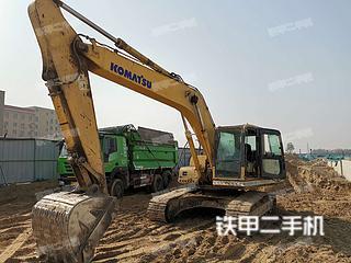 河南-开封市二手小松PC220-8挖掘机实拍照片