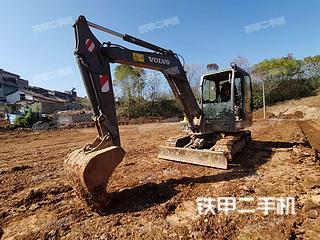 沃爾沃EC55D挖掘機實拍圖片