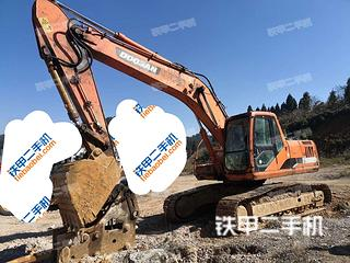 贵州-黔东南苗族侗族自治州二手斗山DH220LC-7挖掘机实拍照片