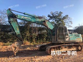塘沽神鋼SK210LC-8挖掘機實拍圖片