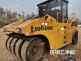 陕西-西安市二手柳工CLG630R压路机实拍照片