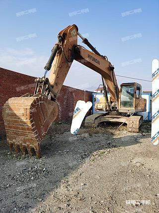 塘沽現代R275LC-9V挖掘機實拍圖片