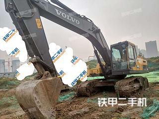 西安沃爾沃EC250D挖掘機實拍圖片