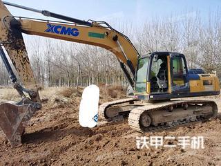 太原徐工XE270DK挖掘機實拍圖片