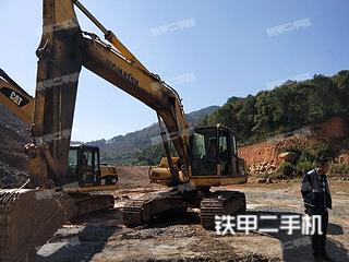 湖南-衡阳市二手小松PC220-8挖掘机实拍照片