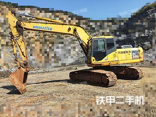 小松PC220LC-7超長前臂挖掘機實拍圖片