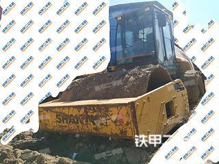 贵州-贵阳市二手山推SR22MA压路机实拍照片