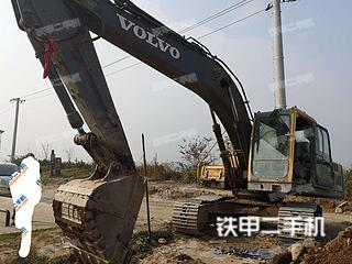 西安沃爾沃EC210B挖掘機實拍圖片
