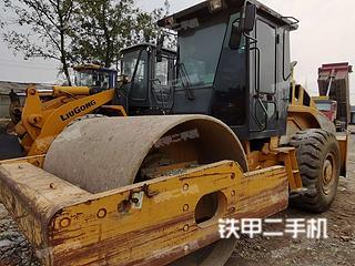 四川-成都市二手柳工CLG622压路机实拍照片