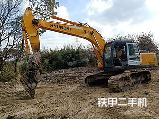 江苏-常州市二手现代R225LC-7挖掘机实拍照片