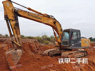 江西-鹰潭市二手现代R215-7C挖掘机实拍照片