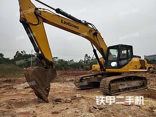柳工CLG933E挖掘機實拍圖片