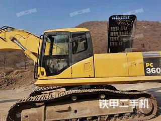 保定小松PC360-7挖掘机实拍图片