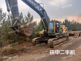 包头沃尔沃EC360BLC挖掘机实拍图片