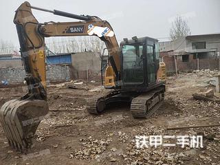 唐山三一重工SY75C挖掘機實拍圖片