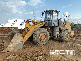 寶雞柳工CLG855N裝載機實拍圖片