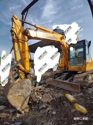 陕西-汉中市二手龙工LG6075挖掘机实拍照片