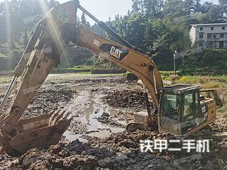 南川卡特彼勒323D2L挖掘機實拍圖片