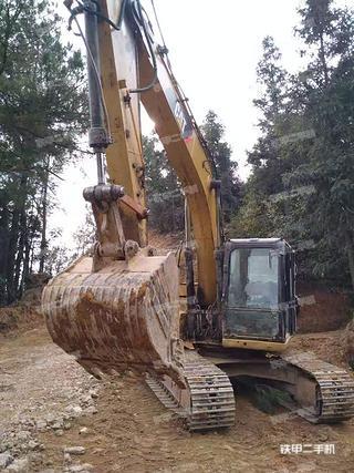 梁平卡特彼勒315D液壓挖掘機實拍圖片