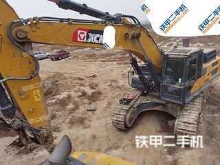 烏海徐工XE490DK挖掘機實拍圖片