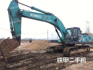 济宁神钢SK350LC-8挖掘机实拍图片