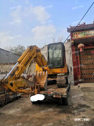 河南-安阳市二手龙工LG6065挖掘机实拍照片
