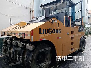河南-周口市二手柳工CLG626R压路机实拍照片