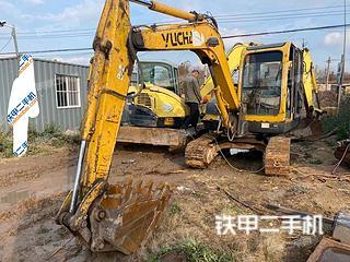 玉柴YC60-7挖掘機實拍圖片