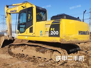 天津-天津市二手小松PC200-8挖掘机实拍照片