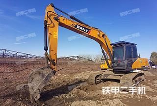 北京三一重工SY215C挖掘機實拍圖片