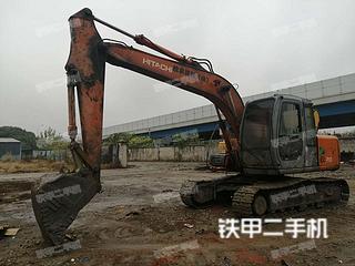 日立EX120-5挖掘机实拍图片