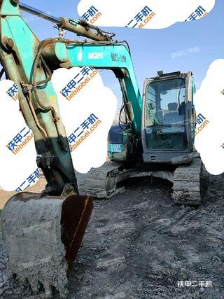 天津日立ZX75US挖掘機實拍圖片