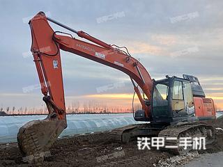 天津日立ZX210LC挖掘機實拍圖片