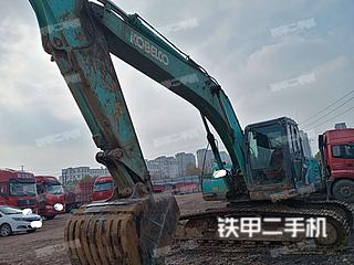 河南-周口市二手神钢SK210LC-8挖掘机实拍照片