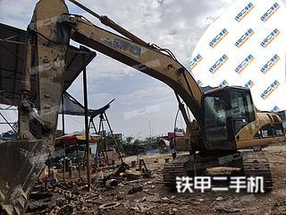 防城港卡特彼勒320C挖掘機實拍圖片