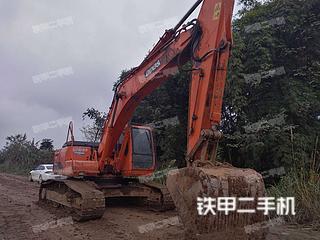 四川-南充市二手斗山DH258-7挖掘机实拍照片
