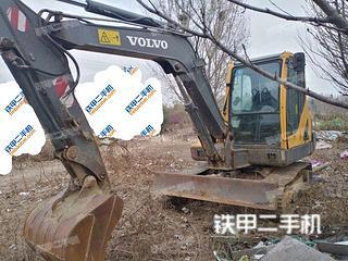 日照沃尔沃EC55B-Pro挖掘机实拍图片