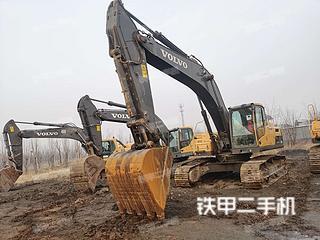 太原沃爾沃EC300DL挖掘機實拍圖片
