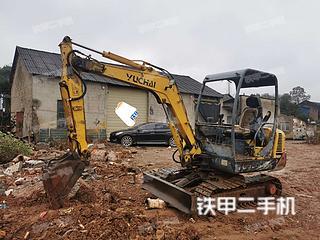 二手玉柴 YC30-8 挖掘机转让出售