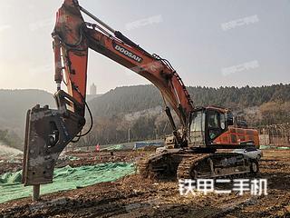 濱州斗山DX500LC-9C挖掘機實拍圖片